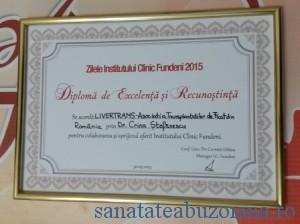 Diploma primita la Zilele IC Fundeni
