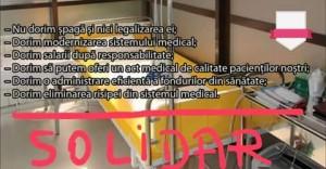 manifestul de solidaritate al Sindicatului Medicilor Buzau