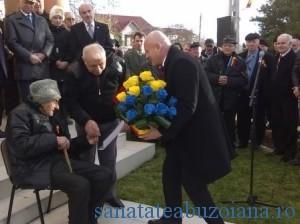 Veteranul Ion Mosescu sarbatorit
