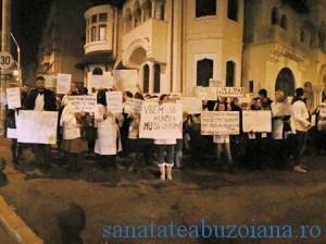 Protest rezidenti (sursa foto Facebook)