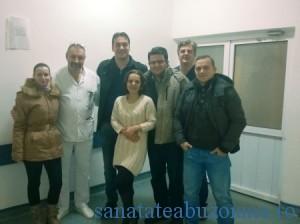 Dr. Ionita, dr. Zoican si echipa de la Fundeni