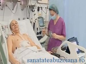 Radu Curca, dupa prima operatie de implantare a inimii artificiale