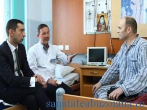 Radu Curca, primul pacient roman cu inima artificiala, care a beneficiat de un transplant cardiac