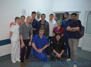 Echipa transplant Buzau