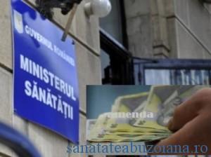 ministerul sanatatii amendat de cncd