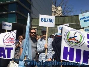 protest medici Buzau (1)