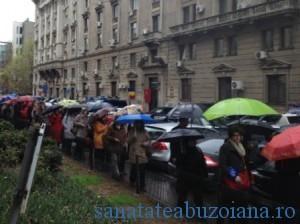 Protest medici de familie
