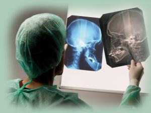 chirurgie ortognatica craniu radiografie