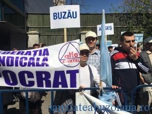 medici buzoieni protest