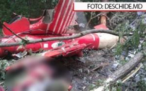 Elicopter SMURD prabusit in R. Moldova