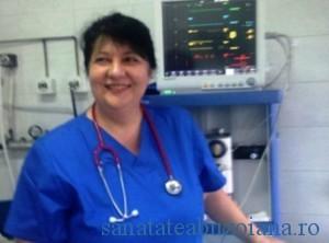 """Dr. Carmen Pantis - """"sufletul"""" activitatilor de prelevare si transplant de la Oradea"""