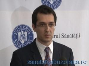 Vlad Voiculescu, ministrul Sanatatii