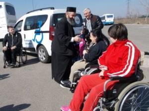 preotul Milea, autoturism adaptat pentru persoane cu dizabilitati