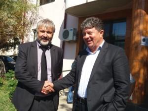 Florin Sangiu si Stelian Mihalcea