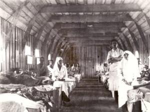 spitalul militar front