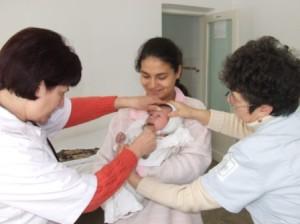 medic familie- bebelus