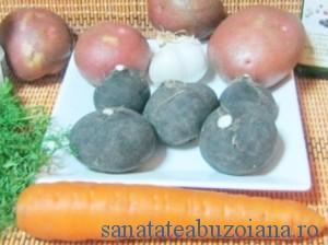 ridiche neagra,cartofi, morcov