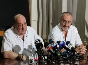 Dr. Radu Macovei si dr. Ioan Lascar