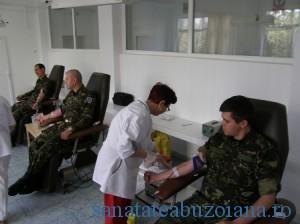 donare sange militari