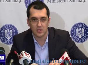 Ministrul Sanatatii, Vlad Voiculescu