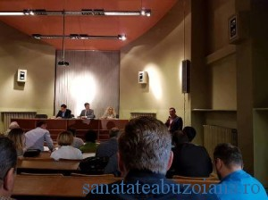 Medici dezbatere MS Vlad Voiculesscu- dr. Eleodor Carstoiu