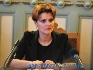 Lia Olguta Vasilescu - ministrul Muncii