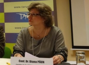 Conf. Dr. Diana Paun - consilier prezidential