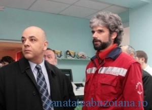 Dr. Hadrian Borcea si dr. Raed Arafat
