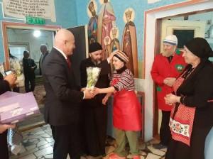 Neagu - preotul MIlea - azil Campeni