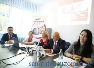 Claudiu Damian, Alina Iordache, Gabriela Alexandrescu, Petre Neagu, Amalia Nastase -conferinta salvati copiii - sju buzau
